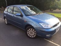 2003 Ford Focus 1.8 ghia bi fuel / factory fitted lpg gas / cheap insurance model