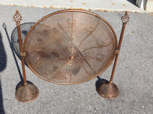 Large Metal Candle Holder 30''