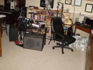 Vintage Amps and Band equipment