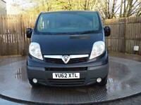 2012 Vauxhall Vivaro Sportive 2900 Crewvan LWB **NO VAT** Combi Van Diesel Manua