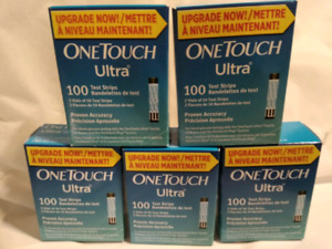 One Touch Ultra 100 test strips