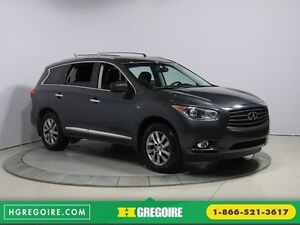 2014 Infiniti QX60 AWD AUTO A/C CUIR TOIT MAGS 7 PASS