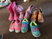 Girls shoes size 7&8 some new some used