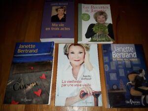 Livres de Janette Bertrand