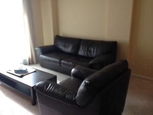 Bright & Furnished 1 Bdrm + Den availble October 15th or earlier