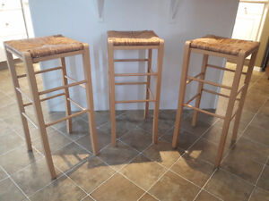 3 Bar Stools - $50 for all 3