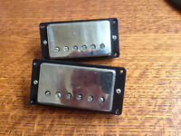 Gibson 490R and 498T Pickups