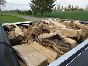 FIRE WOOD ALL HARDWOOD DELIVERED FOR $85.00 A FACE CORD