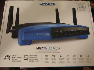Linksys AC1900 Dual Band Wifi Wireless Router (Never Used)