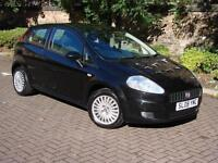 EXCELLENT CAR!! BLACK 2008 FIAT GRANDE PUNTO 1.2 ACTIVE 3dr, LONG MOT, FSH