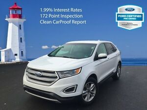 2016 Ford Edge SEL   - non-smoker - Certified