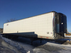 53 feet refer trailer with Thermo king