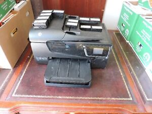 HP Officejet 6600 printer + extra black inks and colour inks London Ontario image 2