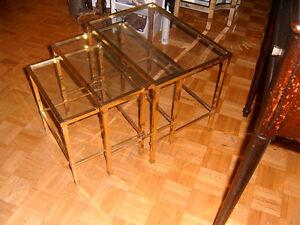 table gigogne verre quebec