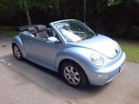Volkswagen Beetle 1.9TDI Convertible - 2004/04 reg