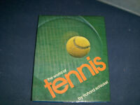 THE WORLD OF TENNIS-RICHARD SCHICKEL-RANDOM HOUSE-1975