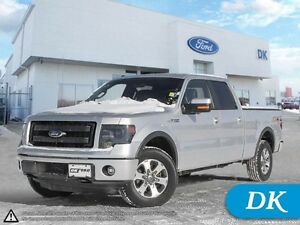 2013 Ford F-150 FX4 Ecoboost, LWB w/Leather, Moonroof, Nav!