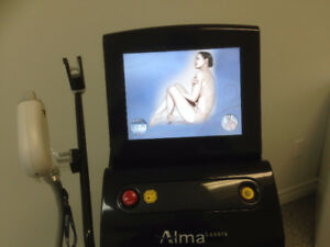 PAIN FREE Alma Soprano XLi ICE laser hair removal UNDER ARMS