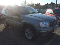 2002 JEEP GRAND CHEROKEE 4.0 Limited 5dr Auto VERY LOW MILES