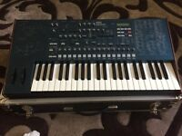 Korg MS2000 synth and Gothard flight case