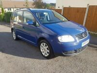 2005 VW TOURAN SE TDI 7 SEATER MPV