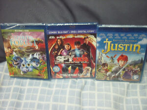 THREE NEW KIDS BLU-RAY MOVIES SEALED FIRST $10 GETS THEM