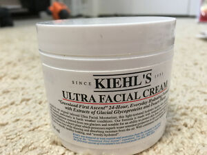 Kiehl's cleanser and facial cream, never open