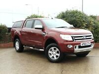 2015 Ford Ranger Pick Up Double Cab Limited 2.2 TDCi 150 4WD 4 door Pick Up