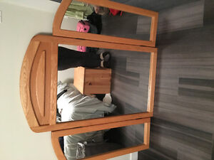 Light wood bedroom set