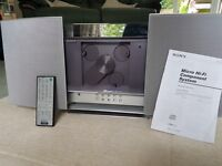 Sony front loading CD player and stereo