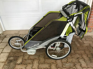 Chariot double stroller/jogger