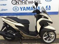 2016 YAMAHA TRICITY 125 VELVET WHITE, BRAND NEW! ON THE ROAD