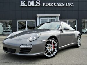 2010 Porsche 911 CARRERA 4S COUPE - 6SP-