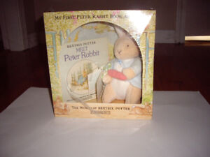 PETER RABBI BOOK AND TOY