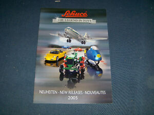 SCHUCO TOY CAR CATALOGUE 2005-NEW RELEASES-CARS-TRUCKS+