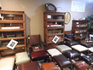 antique barrister bookcases, restored,several sizes and features