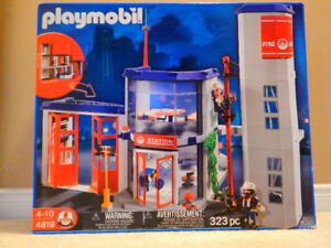 New Playmobil Fire Station Discontinued - Retired / Edition