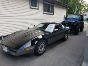 1987 corvette coupe