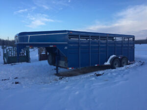 2015 Calico Stock Trailer 20ft