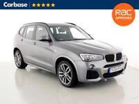 2014 BMW X3 xDrive20d M Sport 5dr Step Auto SUV 5 Seats