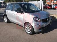 2015 Smart forfour 0.9 Passion T DAMAGED REPAIRABLE SALVAGE