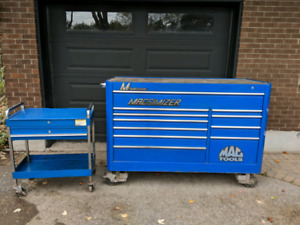 Tool box, all tools and roll cart for sale