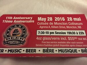 OneTicket For May 28 Beer Festival
