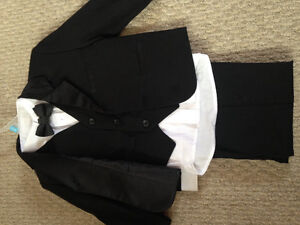 Toddler tux and dress shoes