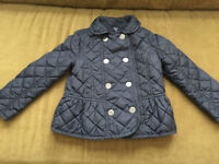 GAP Brand - Girl Size 4 (Fits Like Size 3) Fall Jacket
