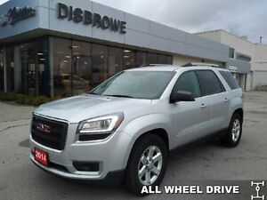 2014 GMC Acadia SLE2   Remote Start, Heated Seats, New Brakes