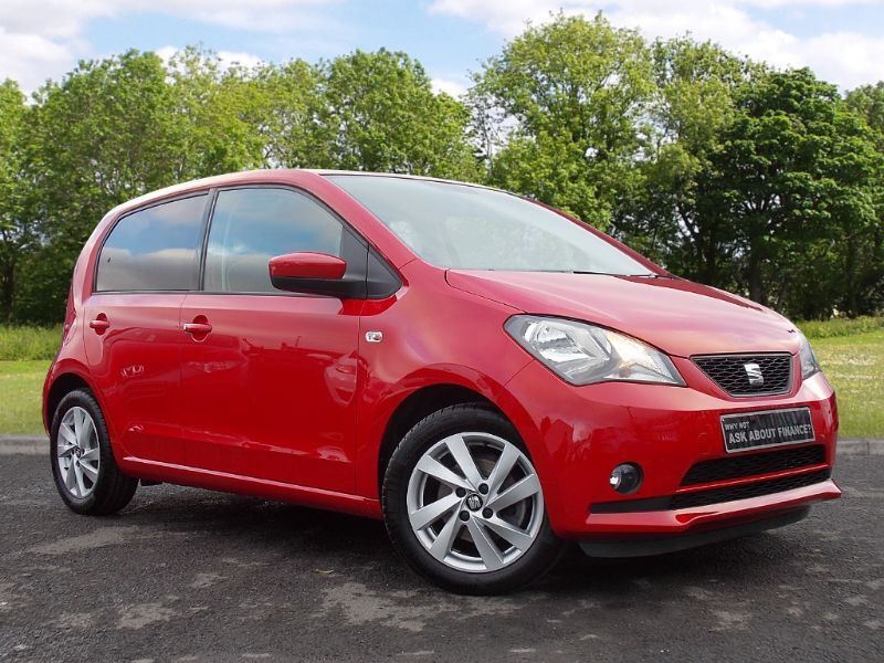 SEAT Mii 1.0 Sport 5dr (red) 2015