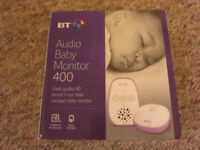 BT Audio Baby Monitor (Brand new in box never been opened) £20