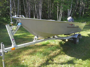 Boat, Motor and Trailer and accessories