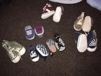 Baby shoes from newborn